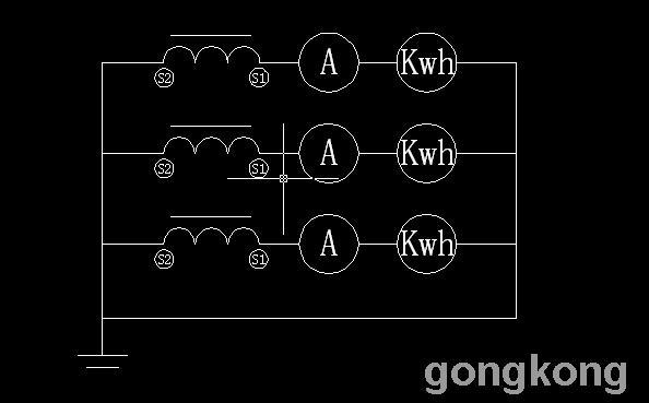 怎么利用原有的电流表和电压表等附近来接一个电能表