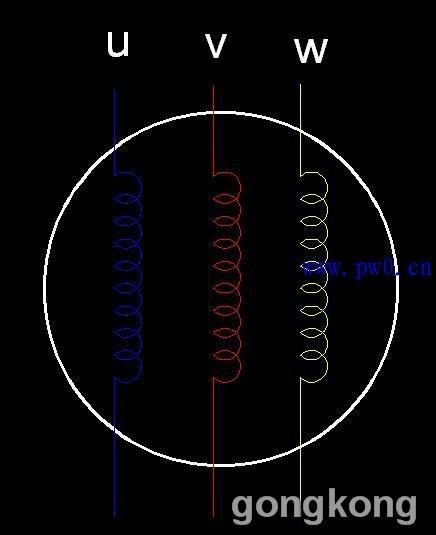 教你三相异步电动机绕组头