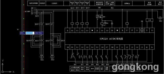 机械动力滑台plc控制系统的设计图片