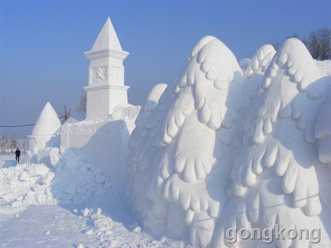 雪雕大赛设计图