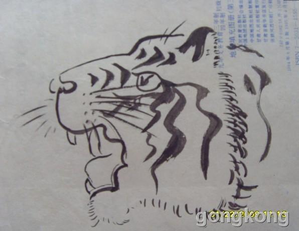 儿童画 简笔画 手绘 线稿 596_460