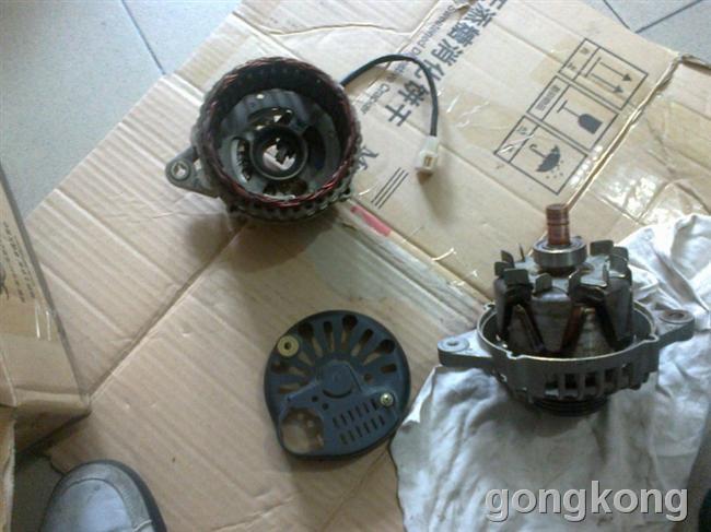 自己修汽车发电机-专业自动化论坛-中国工控网