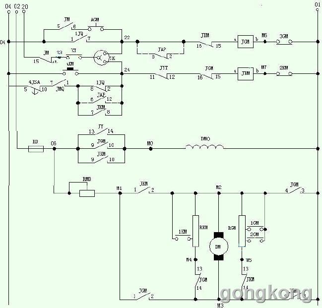 电梯控制实例plc教学课程(四)-专业自动化论坛-中国