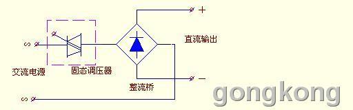 是可以先进行可控硅交流调压(即固态调压器调节电压)