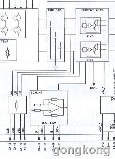 abcs510的电流检测电路如下