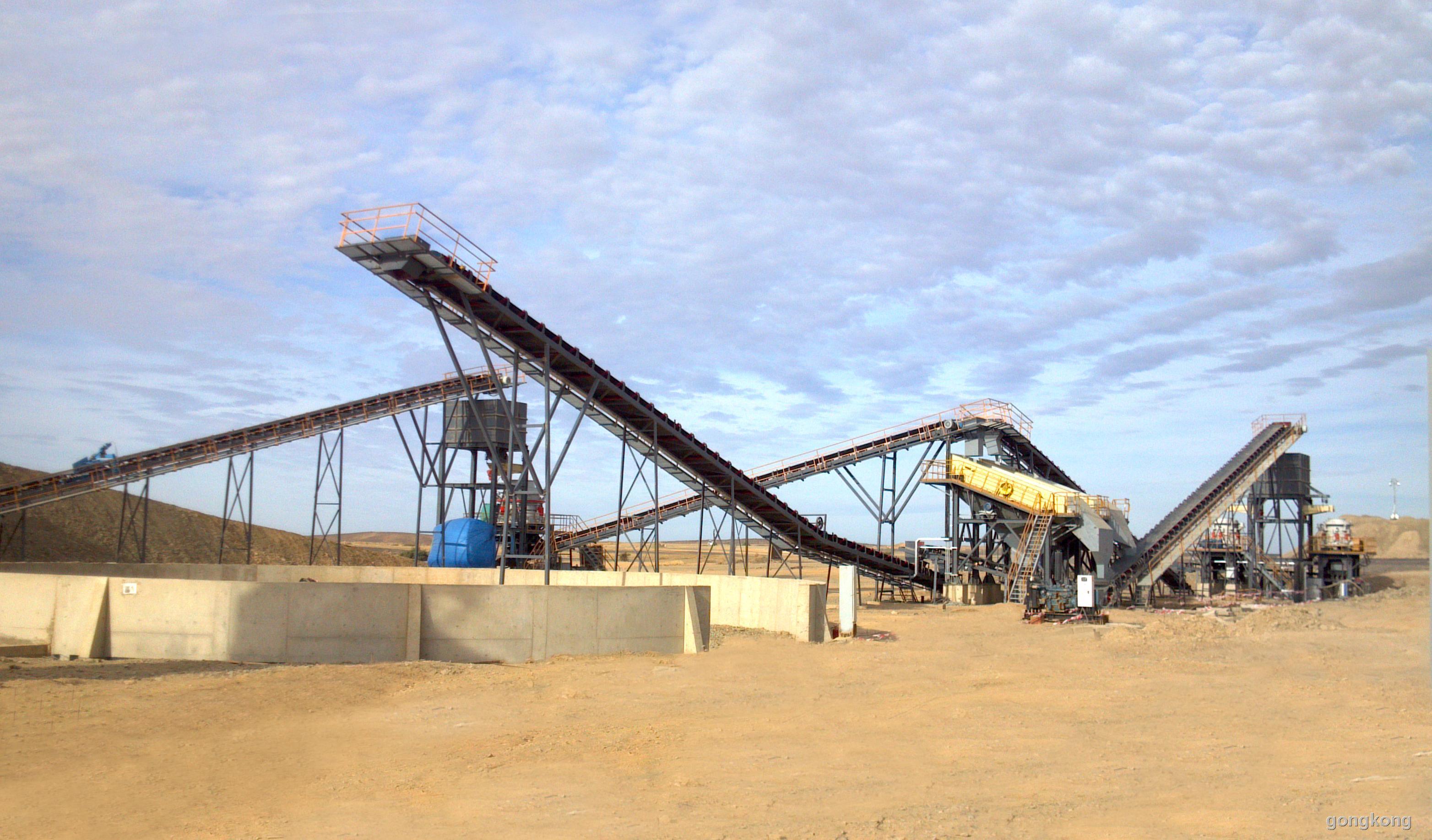 石料生产线均根据实地现场勘察情况或客户实际要求为客户精心设计
