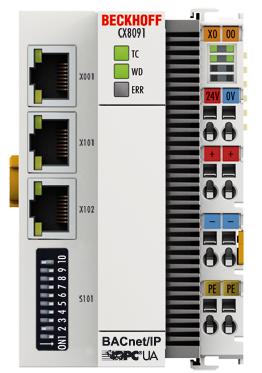 CX8091 嵌入式控制器:分布式紧凑型控制器支持 BACnet 协议