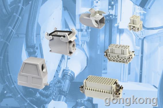 吉诺 GSEE 方型工业连接器