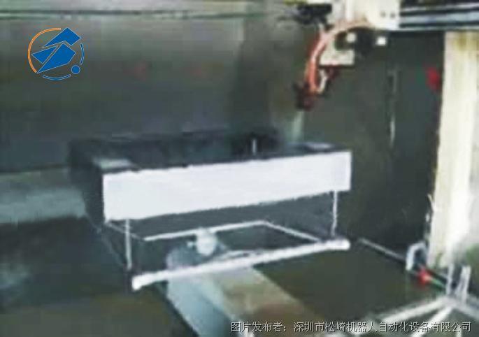 松崎 LCD面壳五轴往复机喷涂机器人