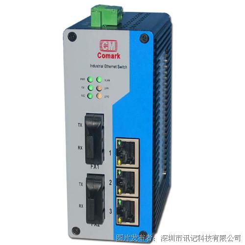 深圳訊記5口千兆標準型工業以太網交換機