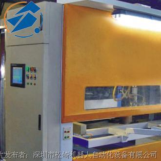 松崎 办公家具台面喷漆 五轴往复机器人