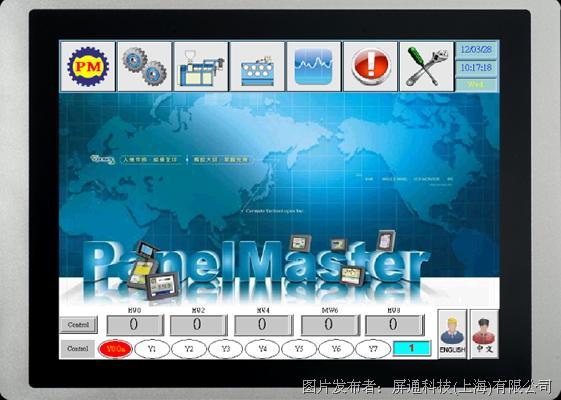 屏通  PT150-XSD T系列-加強型人機介面